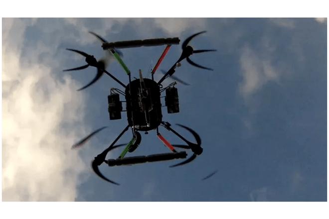 Los drones planta árboles tienen una frecuencia de siembra de 6 segundos