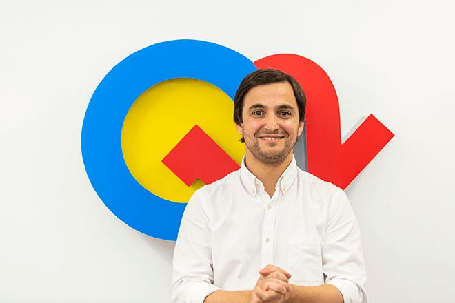 Carlos Alcántara, fundador y CEO Q12 Trivia