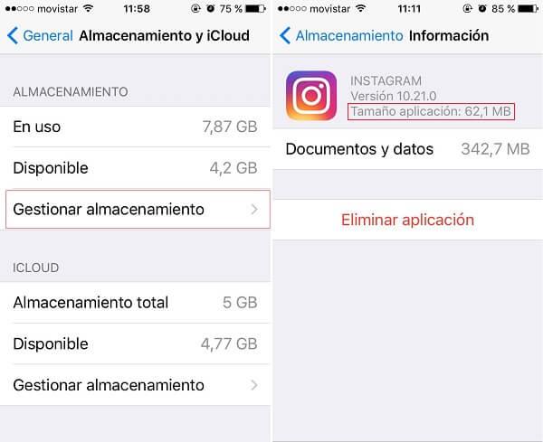 No funciona Instagram Fallo y solución