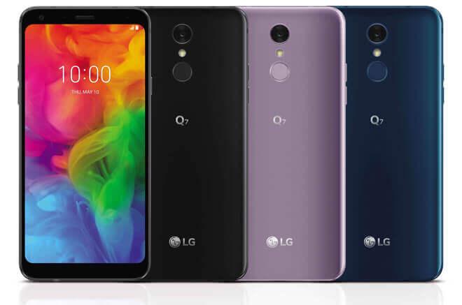 Foto de teléfono LG Q7