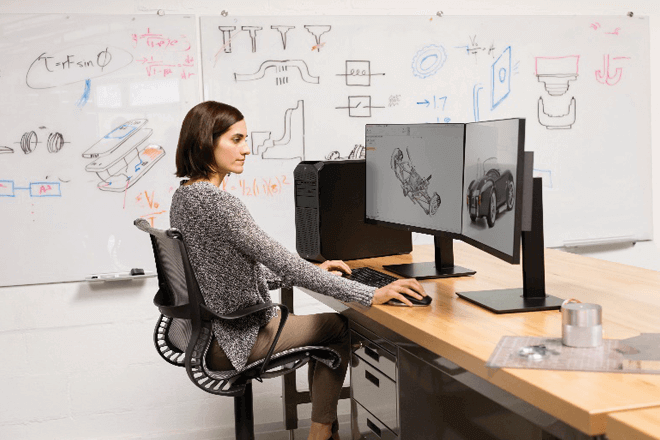 Workstation HP Z2 Tower G4 está equipada para manejar proyectos 3D