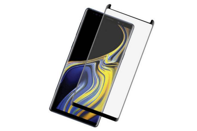 foto de Protector Galaxy Note 9 Olixar Cristal Templado Compatible con Funda