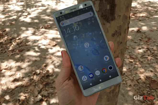 La pantalla del Xperia XZ2 ofrece imágenes próximas al HDR