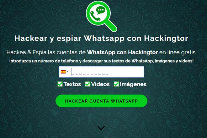Foto de espiar whatsapp con hackingtor