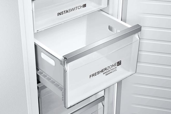 Compartimento Fresher Zone del nuevo congelador de Haier