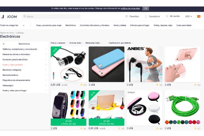Jomm, entre las mejores páginas para comprar móviles chinos