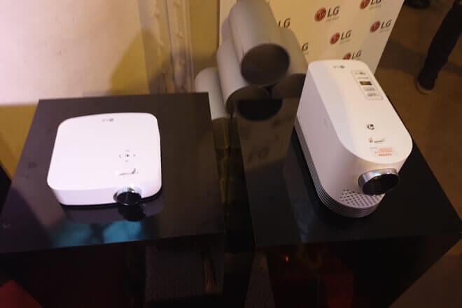 Proyectores de LG Smart TV
