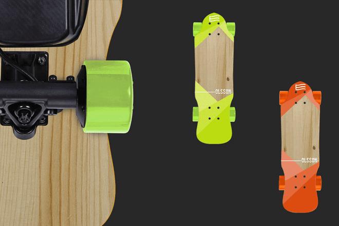 Skates eléctricos Malibú y Huntington de Olsson and Brothers