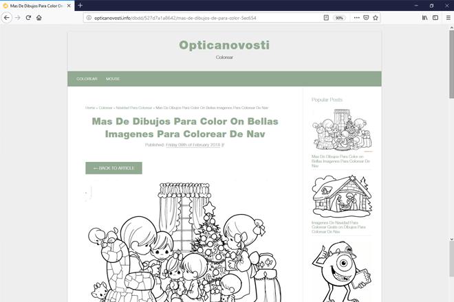 opticanovosti.info para descargar e imprimir dibujos para colorear