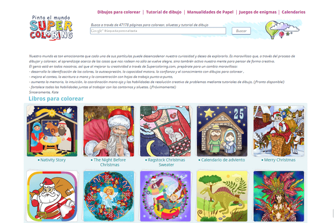 En Supercoloring.com encontrarás gran variedad de dibujos