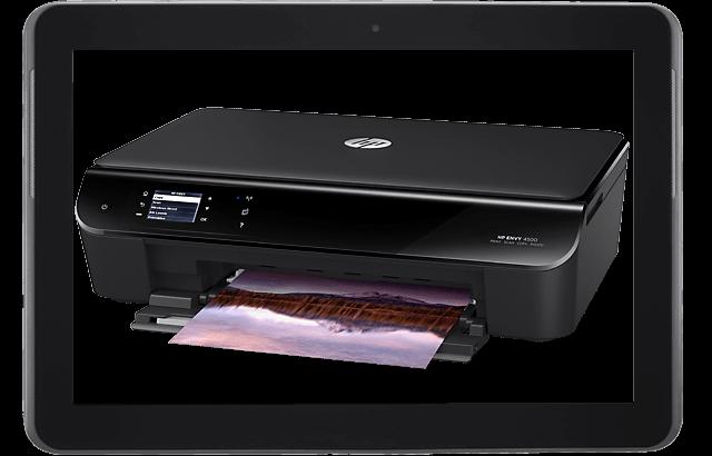 HP Envy 4500:  Impresora multifuncional inalámbrica