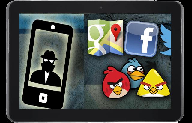 ¿Tu móvil te espía? La NSA usaría aplicaciones como Angry Birds o Google Maps para espiarnos