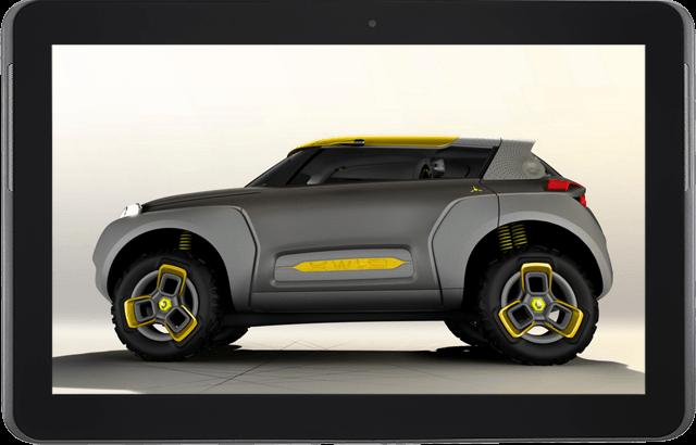 Renault Kwid Concept: El coche que integra un drone