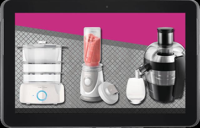 Cocina, salud y tecnología van de la mano: La propuesta de Philips