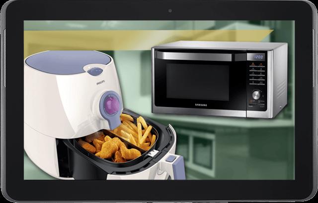Cocina saludable gracias a la tecnología