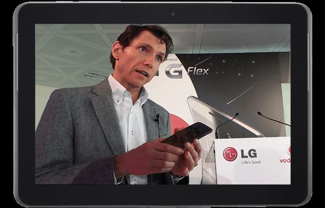 LG G Flex: El móvil que presume de curvas y flexibilidad