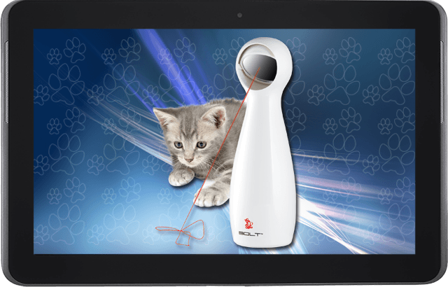 Mascotas tecnológicas: Un láser para las geek-pets