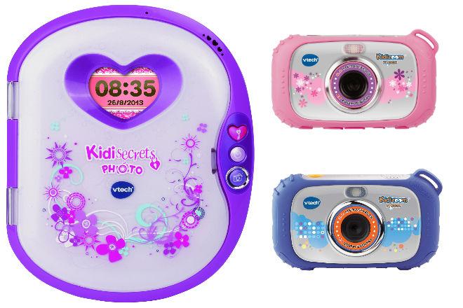 Ideas de regalos tech para los peques: Kidisecrets Photo y Kidizoom Touch
