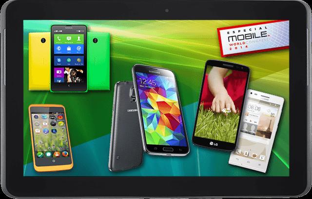 Los móviles del MWC 2014