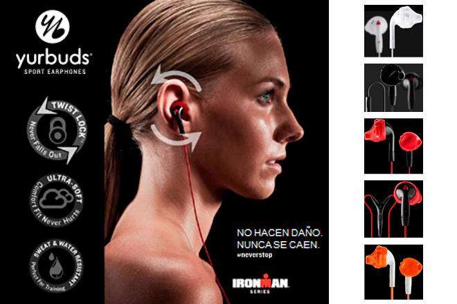 Los auriculares yurbuds, diseñados por y para deportistas, aterrizan en España