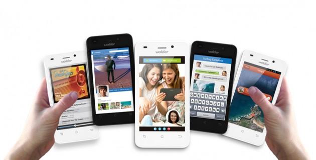 Wolder presenta dos nuevos móviles Android Mismart Smilew1 y Baby