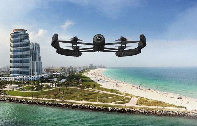 Parrot desarrolla el drone ultra-ligero Parrot Bebop Drone