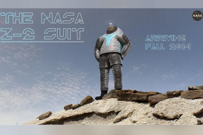 El nuevo traje espacial de la NASA parece sacado de peli de ciencia ficción