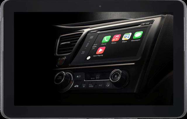 Apple se sube al coche con su CarPlay