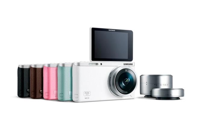 Samsung NX Mini SMART  …Cámara con NFC y Wi-Fi nacida para los selfies
