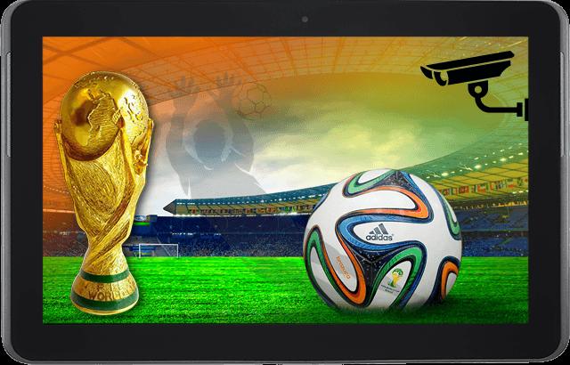 Ver los partidos del Mundial Brasil 2014 por Internet: Aquí hay varias opciones