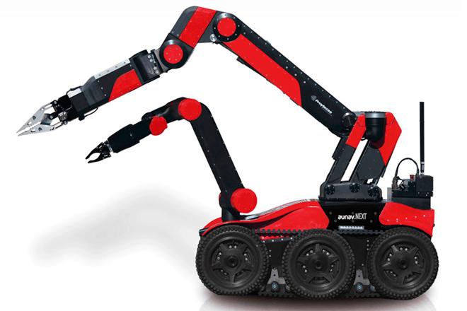 Robot español antiexplosivos: aunav.NEXT