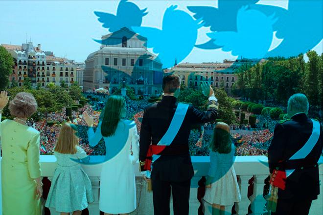 Felipe VI en Twitter también es Rey