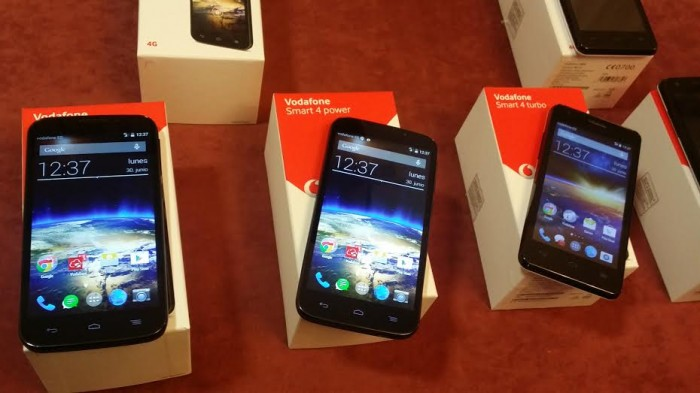 Vodafone Smart 4 Power y Vodafone Smart 4 Turbo: Los nuevos 4G lowcost