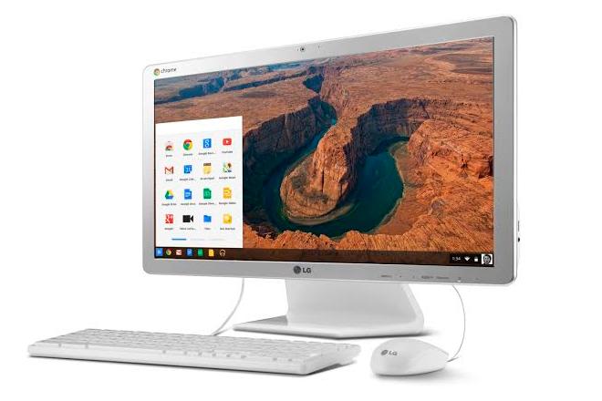 LG pionera: Ordenador All in One con Chrome a 299€