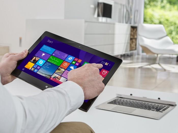 Toshiba Satellite Click 2 Pro P30W: Híbrido tablet / ultrabook para trabajar en movimiento