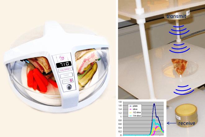 Microondas fitness mide las calorías de tus comidas