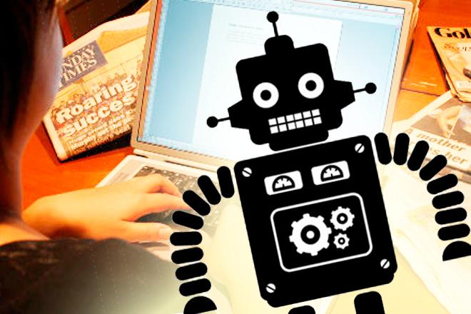 ¿Eres periodista? Un robot podría quitarte el puesto