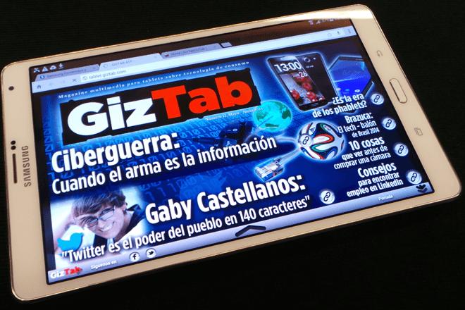 Samsung Galaxy Tab S:  Un vistazo a la mejor Android del mercado