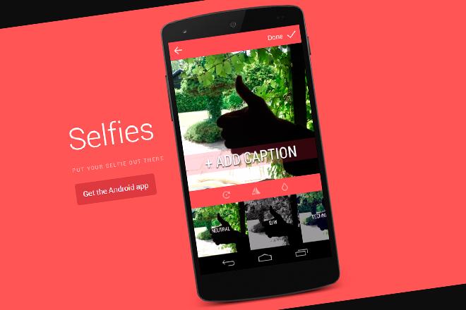 Selfies: La app para …eso mismo