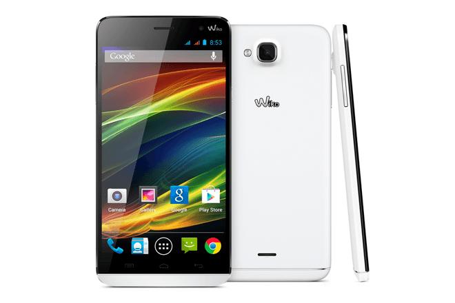 Wiko SLIDE 5,5'': Dual SIM, IPS multitáctil y Quad Core a 169€