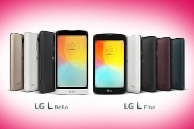 IFA 2014: LG L Fino y L Bello, los nuevos móviles gama media de LG
