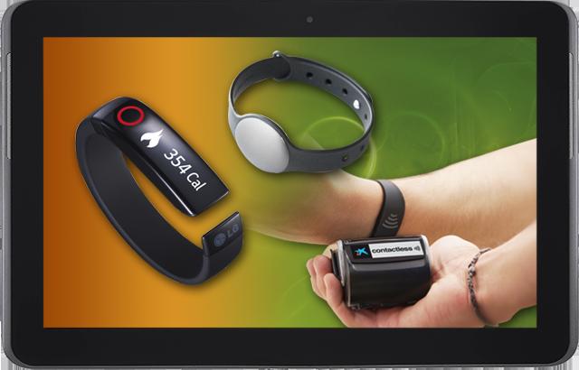 Del wearable fitness al wearable banking: Pulseras inteligentes para todos