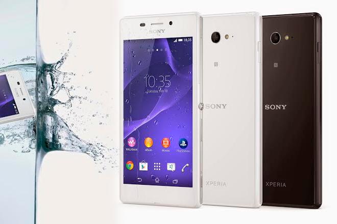 Sony Xperia M2 Aqua aterriza en otoño con ganas de ducharse