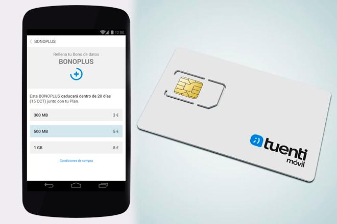 Tuenti Móvil ofrece un bono de 1GB por 8€ al mes