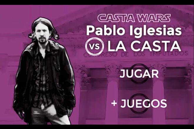 Casta Wars: Pablo Iglesias ha sido dotado con rayos láser