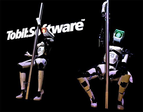 Robots strippers: Las máquinas están listas para el Pole dance