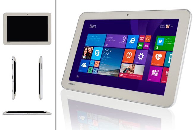 Toshiba Encore 2: Tablet 10,1'' ya en España con Windows 8.1