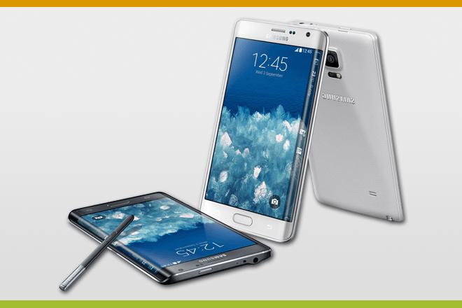 Samsung Galaxy Note Edge : Infografía