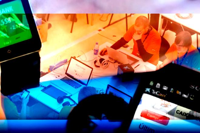 #FinAppsParty 2014: Hackathon de wearables de mano de CaixaBank
