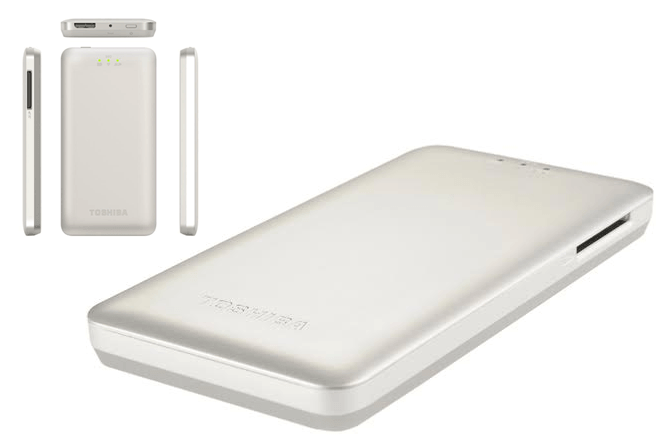 Toshiba Canvio AeroMobile, disco SSD inalámbrico de 128 GB